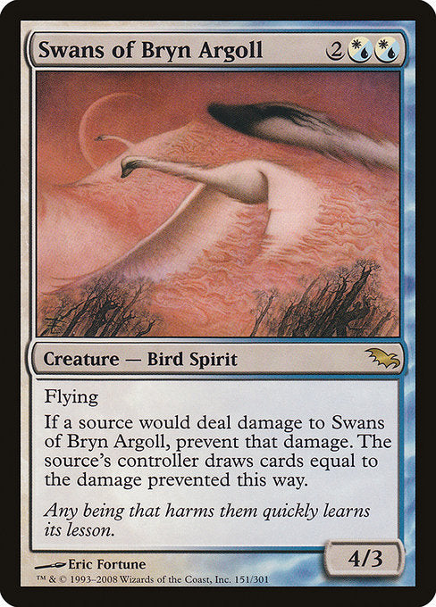 Swans of Bryn Argoll [Shadowmoor] | Myrtle Beach Games & Comics