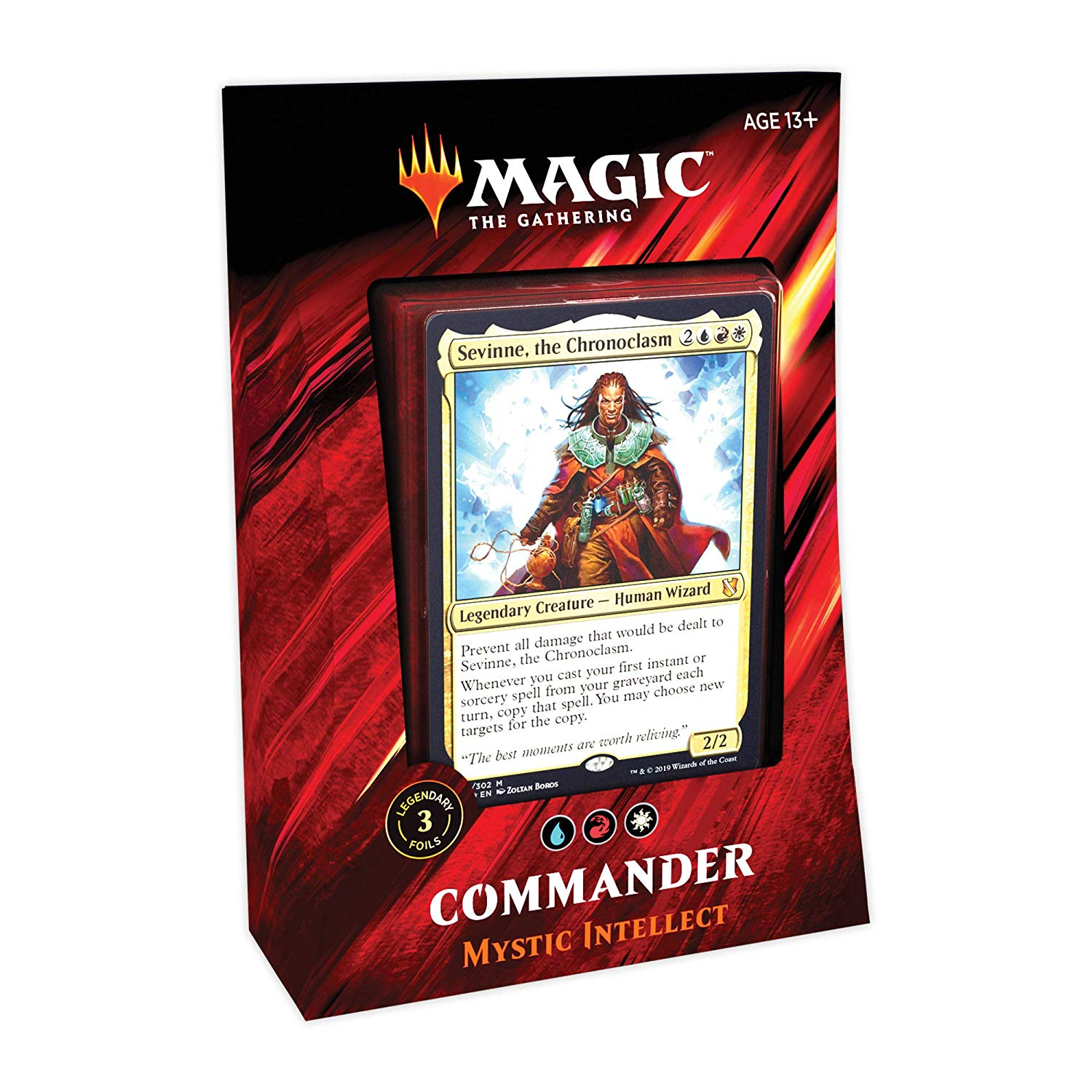 Commander 2019 Mystic Intellect - Precon Deck | Myrtle Beach Games & Comics