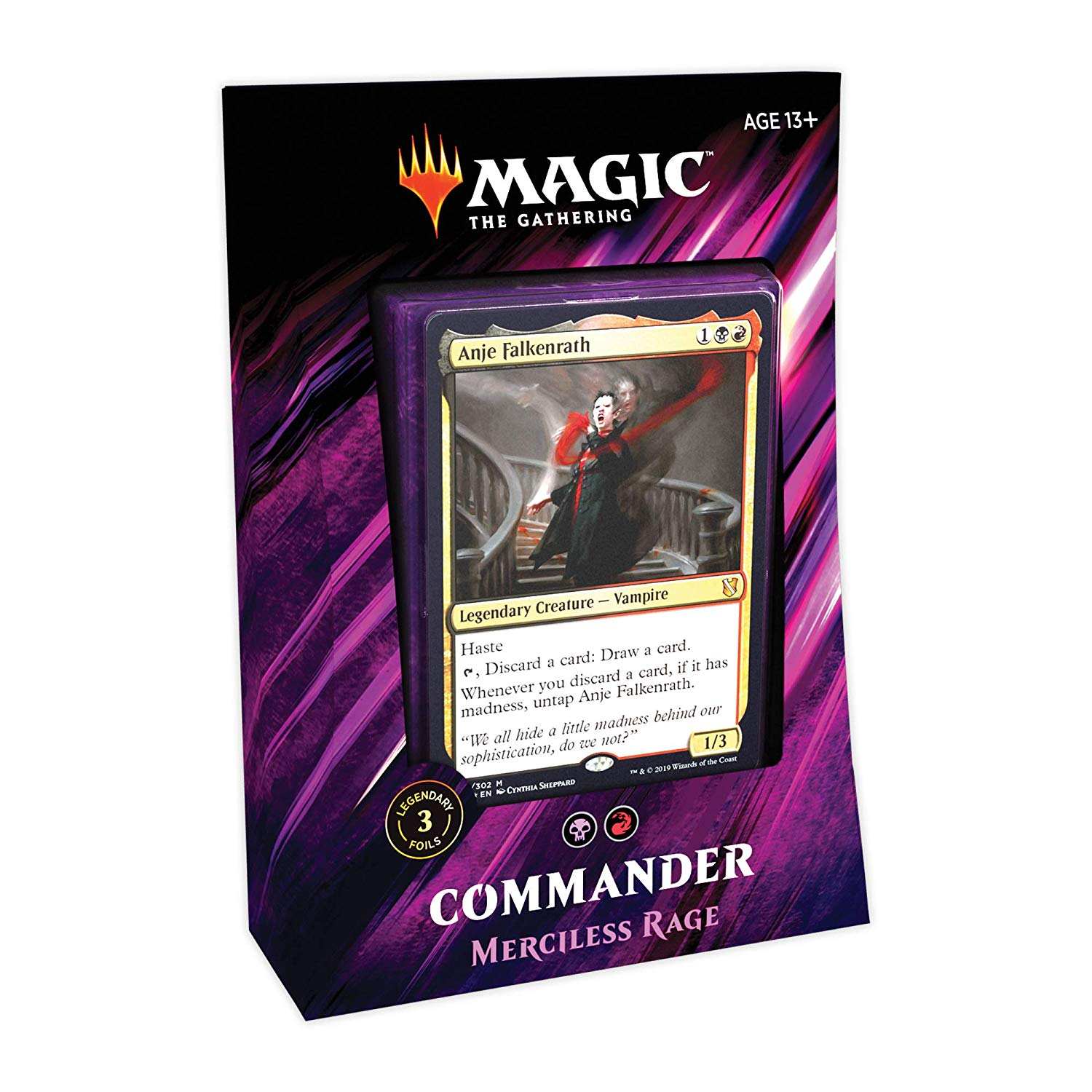 Commander 2019 Merciless Rage - Precon Deck | Myrtle Beach Games & Comics