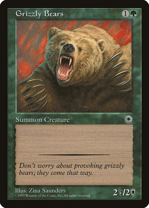 Grizzly Bears [Portal] | Myrtle Beach Games & Comics