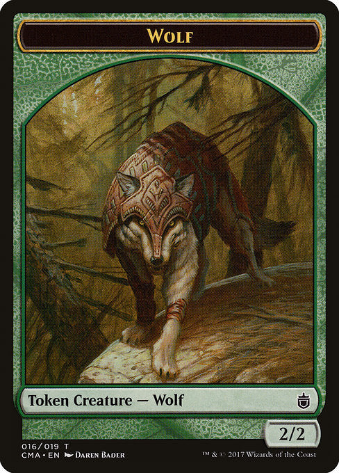 Wolf [Commander Anthology Tokens] | Myrtle Beach Games & Comics