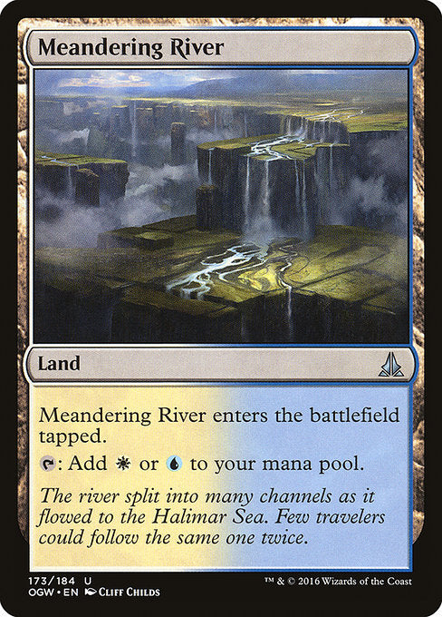 Meandering River [Oath of the Gatewatch] | Myrtle Beach Games & Comics