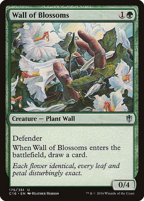 Wall of Blossoms [Commander 2016] | Myrtle Beach Games & Comics