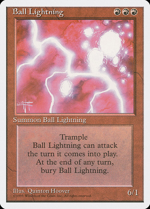 Ball Lightning [Fourth Edition] | Myrtle Beach Games & Comics