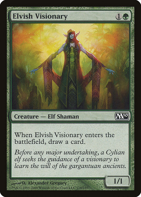 Elvish Visionary [Magic 2010] | Myrtle Beach Games & Comics
