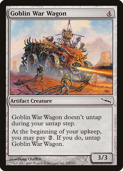 Goblin War Wagon [Mirrodin] | Myrtle Beach Games & Comics