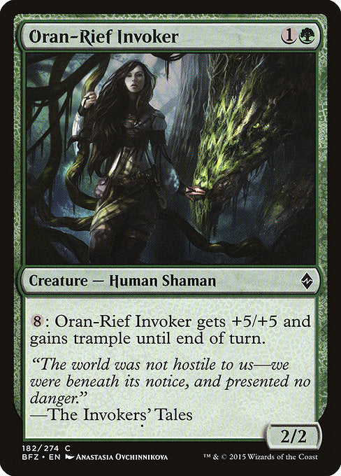 Oran-Rief Invoker [Battle for Zendikar] | Myrtle Beach Games & Comics