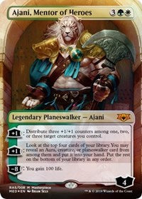 Ajani, Mentor of Heroes [Mythic Edition: Ravnica Allegiance] | Myrtle Beach Games & Comics