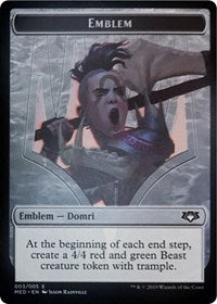 Emblem - Domri, Chaos Bringer [Mythic Edition: Ravnica Allegiance]  | My Pop Culture | New Zealand