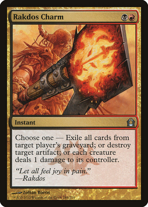 Rakdos Charm [Return to Ravnica] | Myrtle Beach Games & Comics