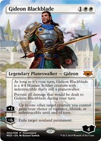 Gideon Blackblade [Mythic Edition: War of the Spark] | Myrtle Beach Games & Comics