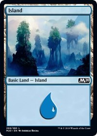 Island (268) [Core Set 2020]  | My Pop Culture | New Zealand