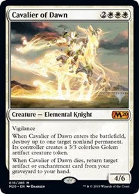 Cavalier of Dawn [Promo Pack: Core Set 2020]  | My Pop Culture | New Zealand