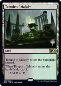 Temple of Malady [Promo Pack: Core Set 2020] | Myrtle Beach Games & Comics