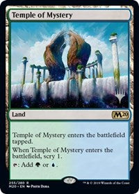 Temple of Mystery [Promo Pack: Core Set 2020]  | My Pop Culture | New Zealand