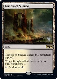 Temple of Silence [Promo Pack: Core Set 2020]  | My Pop Culture | New Zealand