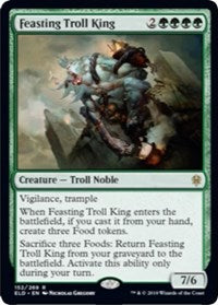 Feasting Troll King [Throne of Eldraine] | Myrtle Beach Games & Comics