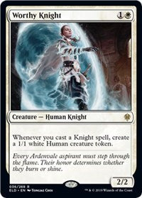 Worthy Knight [Throne of Eldraine]