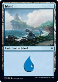 Island (255) [Throne of Eldraine] | Myrtle Beach Games & Comics