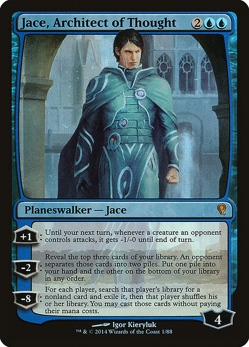 Jace, Architect of Thought [Duel Decks: Jace vs. Vraska] | Myrtle Beach Games & Comics