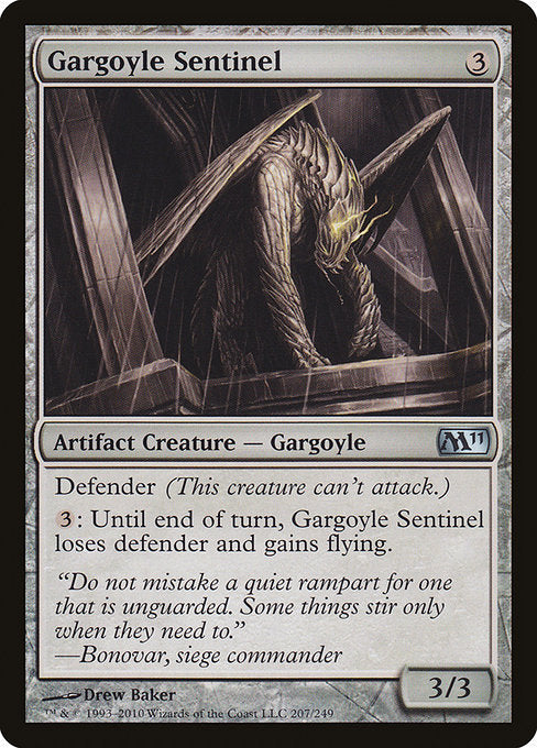 Gargoyle Sentinel [Magic 2011] | Myrtle Beach Games & Comics