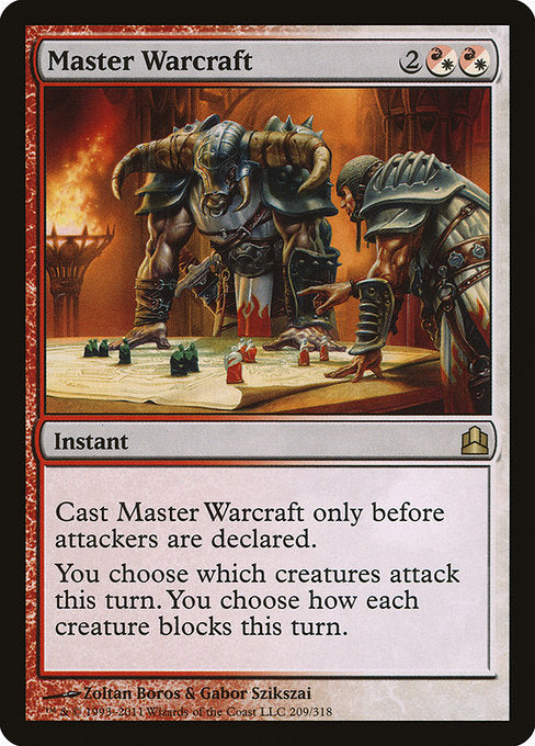 Master Warcraft [Commander 2011] | Myrtle Beach Games & Comics
