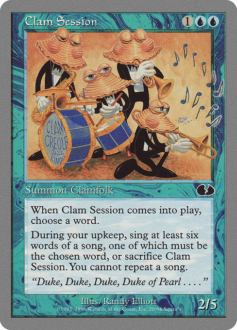 Clam Session [Unglued]  | My Pop Culture | New Zealand