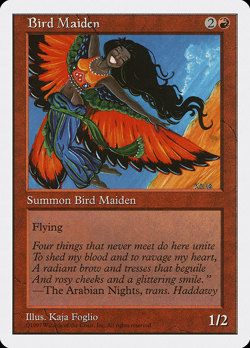 Bird Maiden [Fifth Edition] | Myrtle Beach Games & Comics