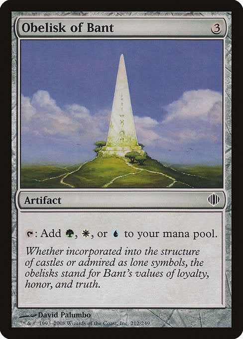Obelisk of Bant [Shards of Alara] | Myrtle Beach Games & Comics