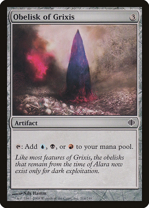 Obelisk of Grixis [Shards of Alara] | Myrtle Beach Games & Comics