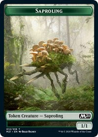 Saproling Token [Core Set 2021] | Myrtle Beach Games & Comics