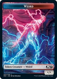 Weird Token [Core Set 2021] | Myrtle Beach Games & Comics