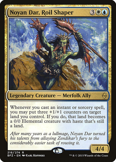 Noyan Dar, Roil Shaper [Battle for Zendikar] | Myrtle Beach Games & Comics