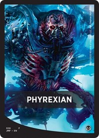 Phyrexian Theme Card [Jumpstart] | Myrtle Beach Games & Comics