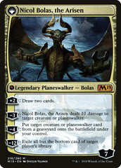 Nicol Bolas, the Ravager // Nicol Bolas, the Arisen [Core Set 2019 Promos] | Myrtle Beach Games & Comics