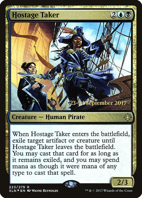 Hostage Taker [Ixalan Promos] | Myrtle Beach Games & Comics