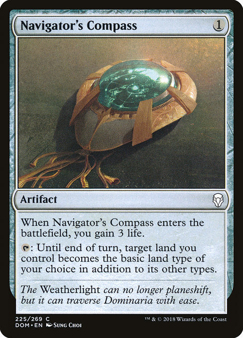 Navigator's Compass [Dominaria] | Myrtle Beach Games & Comics
