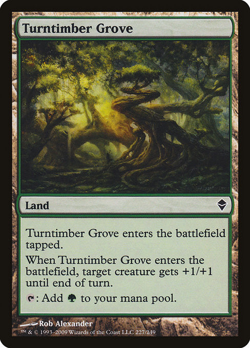 Turntimber Grove [Zendikar] | Myrtle Beach Games & Comics