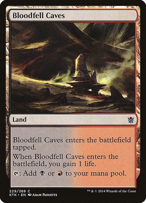 Bloodfell Caves [Khans of Tarkir]  | My Pop Culture | New Zealand