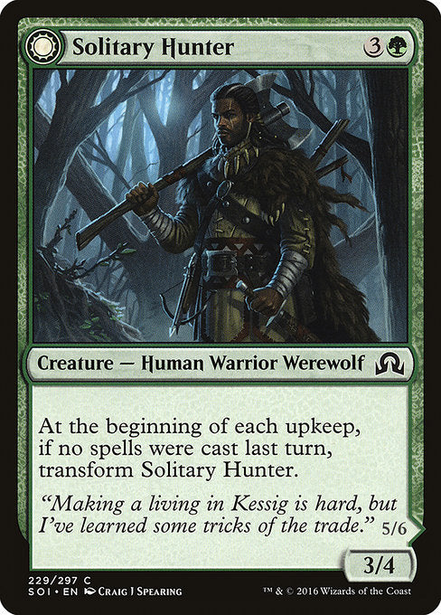 Solitary Hunter // One of the Pack [Shadows over Innistrad] | Myrtle Beach Games & Comics