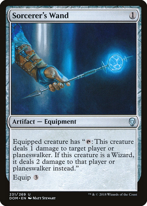 Sorcerer's Wand [Dominaria] | Myrtle Beach Games & Comics