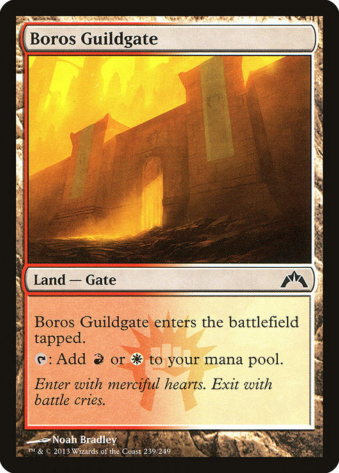 Boros Guildgate [Gatecrash] | Myrtle Beach Games & Comics