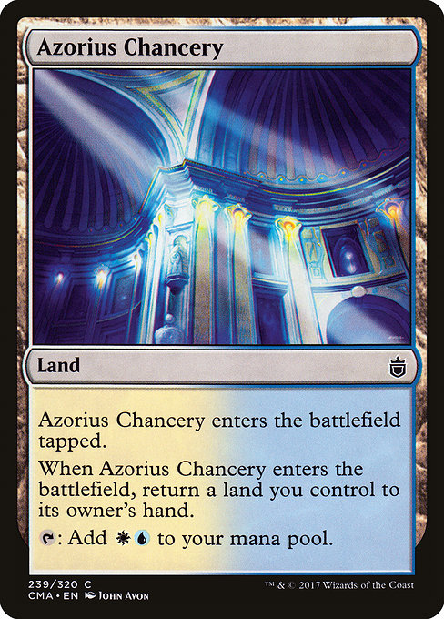 Azorius Chancery [Commander Anthology] | Myrtle Beach Games & Comics