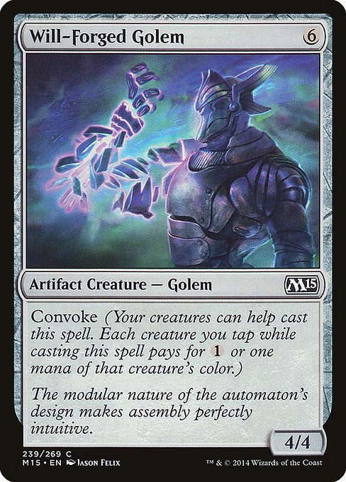 Will-Forged Golem [Magic 2015] | Myrtle Beach Games & Comics