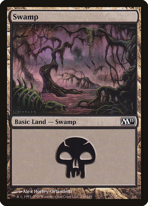 Swamp [Magic 2011] | Myrtle Beach Games & Comics