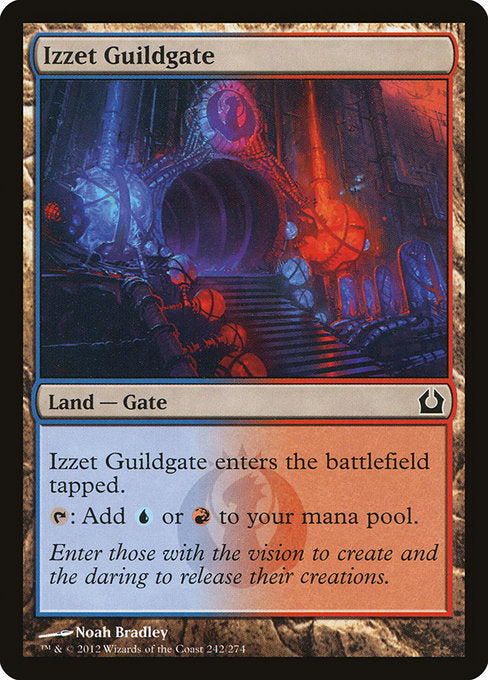 Izzet Guildgate [Return to Ravnica] | Myrtle Beach Games & Comics
