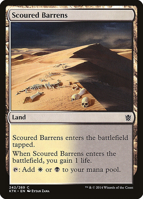 Scoured Barrens [Khans of Tarkir] | Myrtle Beach Games & Comics
