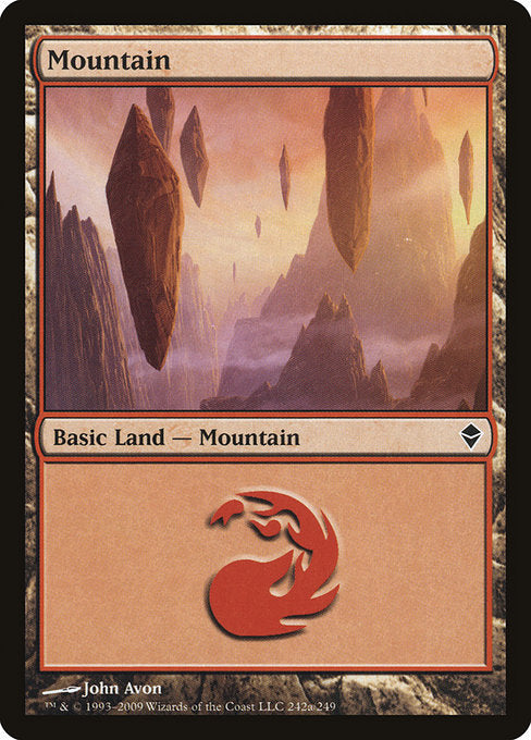 Mountain [Zendikar] | Myrtle Beach Games & Comics