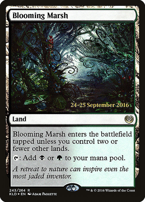 Blooming Marsh [Kaladesh Promos]  | My Pop Culture | New Zealand