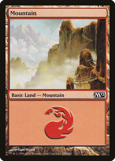 Mountain [Magic 2012] | Myrtle Beach Games & Comics